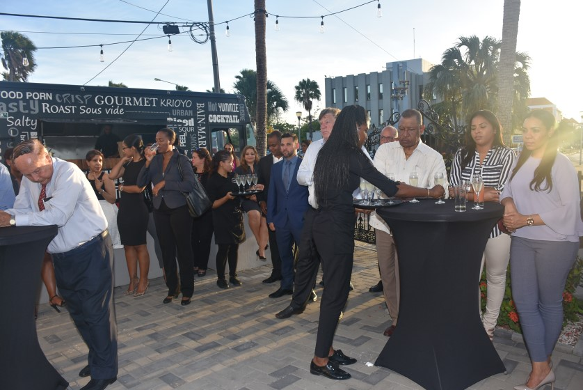 official opening of SAI Bank Curacao 2018